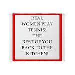 real women sports and gaming joke Throw Blanket