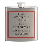 real women sports and gaming joke Flask