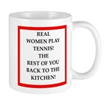 real women sports and gaming joke Mugs