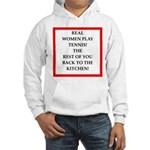 real women sports and gaming joke Hoodie