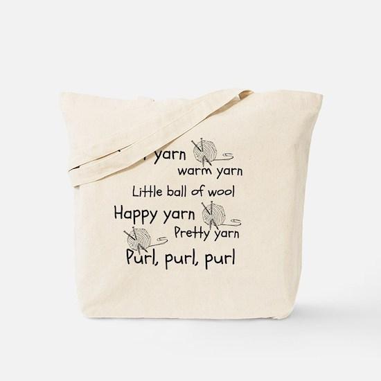 Cute Yarn Tote Bag