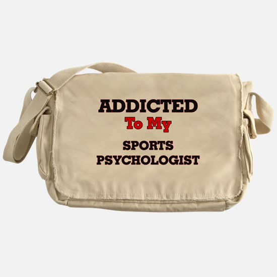 Addicted to my Sports Psychologist Messenger Bag