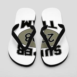 Super Team 2008 Flip Flops