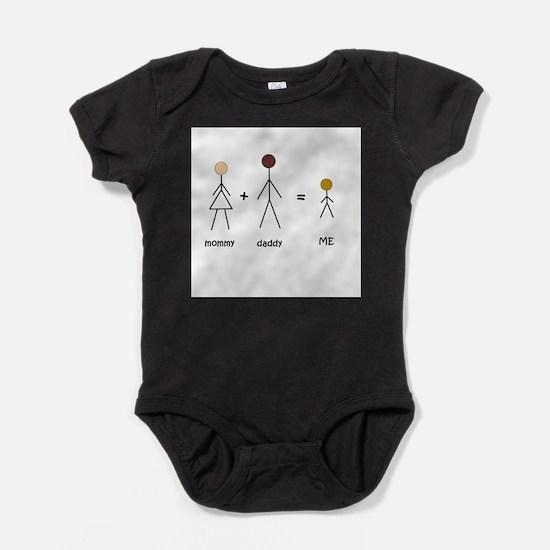 Cute Black is beautiful Baby Bodysuit