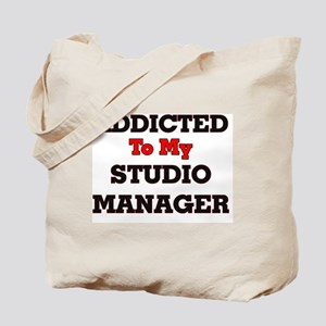 Addicted to my Studio Manager Tote Bag