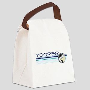 Yooper Fish Canvas Lunch Bag