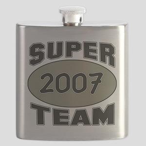 Super Team 2007 Flask