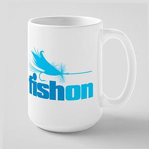 Fish On (Fly) Mugs