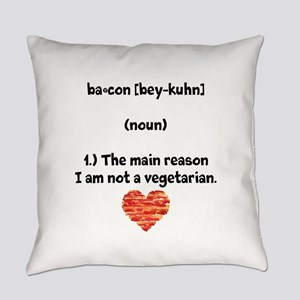 Bacon Def 2 Everyday Pillow