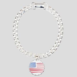 American Flag Bracelet