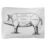 Tasty Pig Pillow Sham