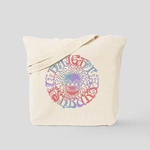 Haight Ashbury Skull Tote Bag
