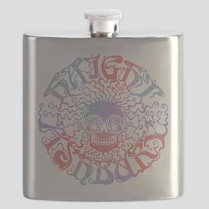 Haight Ashbury Skull Flask