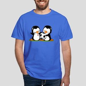 Soccer Penguins Dark T-Shirt