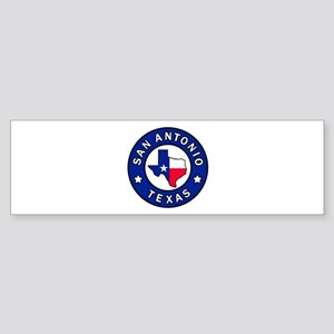 San Antonio Texas Bumper Sticker