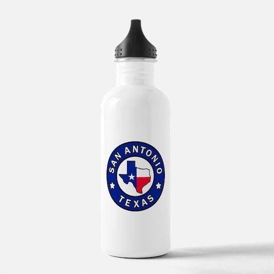 San Antonio Texas Water Bottle