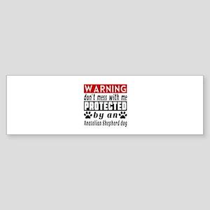 Protected By Anatolian Shepherd d Sticker (Bumper)