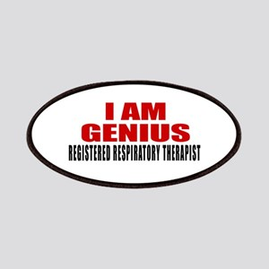 I Am Genius Registered Respiratory Therapist Patch