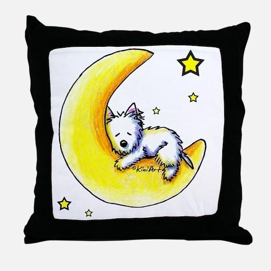 Lunar Love Throw Pillow