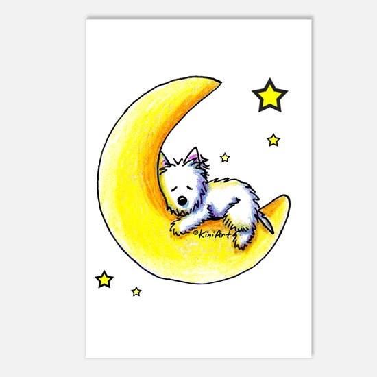 Lunar Love Postcards (Package of 8)