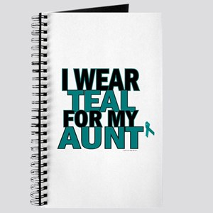 I Wear Teal For My Aunt 5 Journal