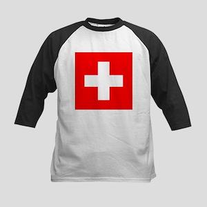 Switzerland Kids Baseball Jersey