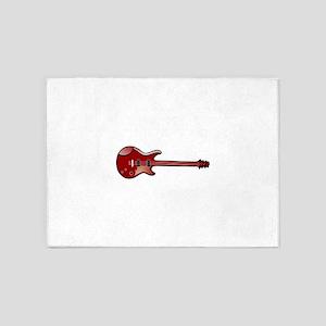 Bass Guitar 5'x7'Area Rug