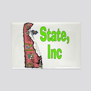 DE-State, Inc. Rectangle Magnet