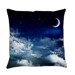 Silent Night Everyday Pillow