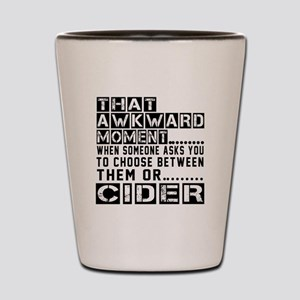 Cider Awkward Designs Shot Glass