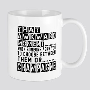 Champagne Awkward Designs Mug