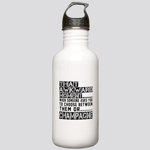 Champagne Awkward Desi Stainless Water Bottle 1.0L