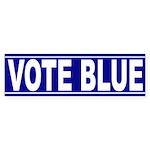 Vote Blue (bumper sticker)