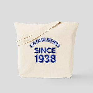Established Since 1938 Tote Bag