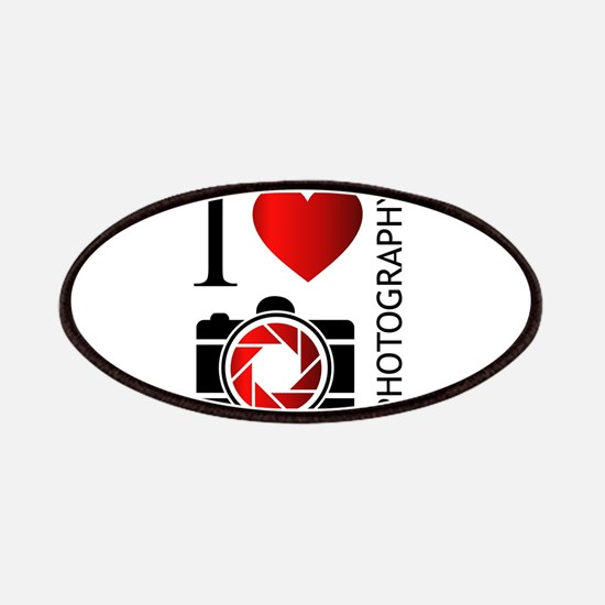 Cute I heart photography Patch