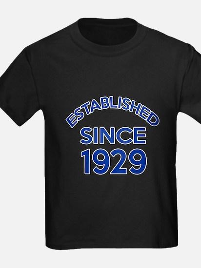 Established Since 1929 T