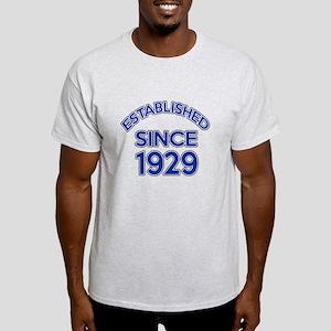Established Since 1929 Light T-Shirt