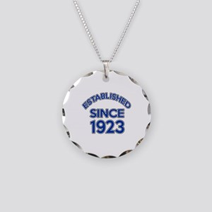 Established Since 1923 Necklace Circle Charm