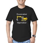 Excavator Operator Men's Fitted T-Shirt (dark)