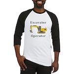Excavator Operator Baseball Jersey