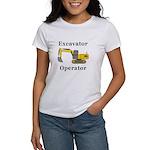 Excavator Operator Women's T-Shirt