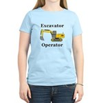Excavator Operator Women's Light T-Shirt
