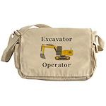 Excavator Operator Messenger Bag