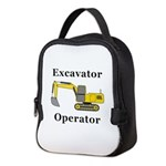 Excavator Operator Neoprene Lunch Bag