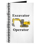 Excavator Operator Journal