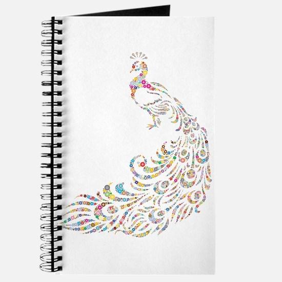 Cute Peacock Journal