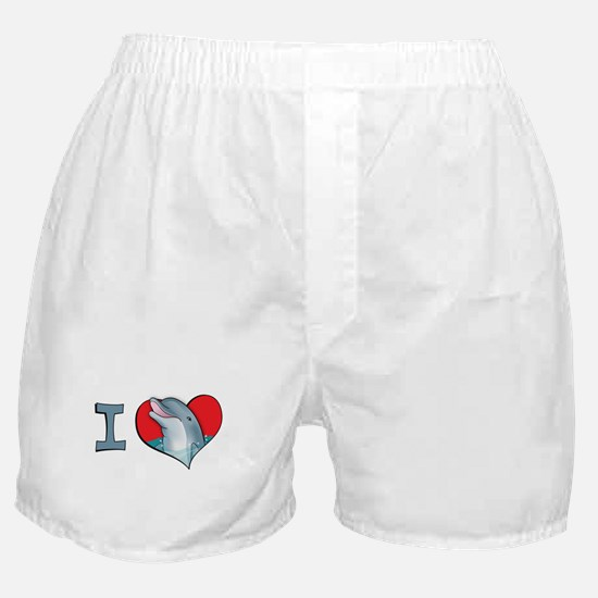 I heart dolphins Boxer Shorts