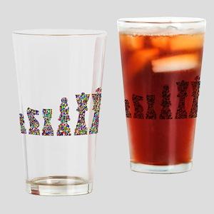 Prismatic Rainbow Chess Drinking Glass