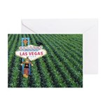 Las Vegas Corn Field with Scarecrow Cards 10