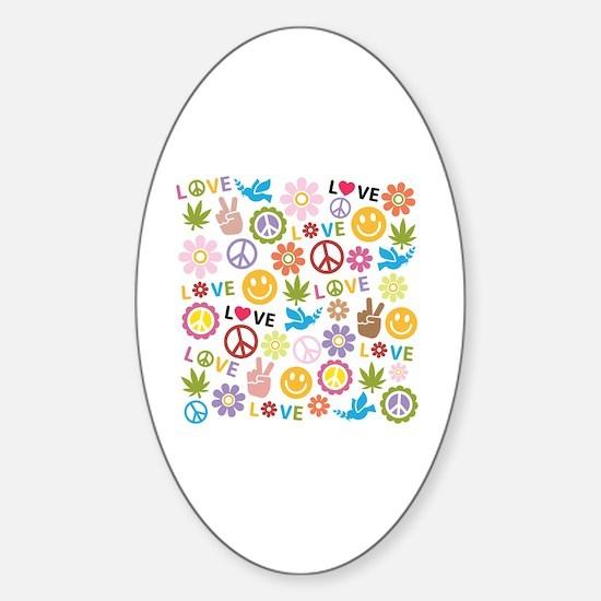 Cute Power Sticker (Oval)